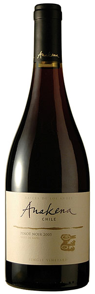 Anakena Pinot Noir Single Vineyard Rapel Valley Chile